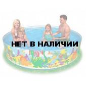 Бассейн каркасный детский Intex (58472NP) 244х46 см