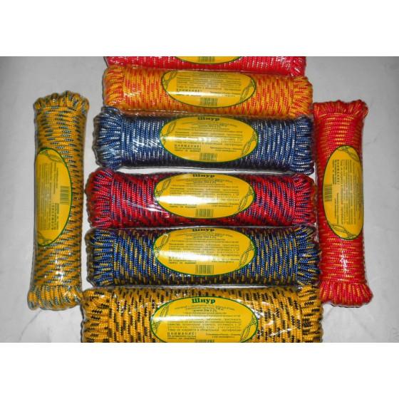 Шнур плетеный (полипропилен) 6,0мм (20м)