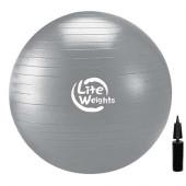 Мяч гимнастический 1868LW (85см, антивзрыв, с насосом)