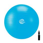 Мяч гимнастический 1867LW (75см, антивзрыв, с насосом)