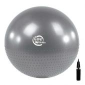 Мяч гимнастический массажный BB010-26 (65см, с насосом)