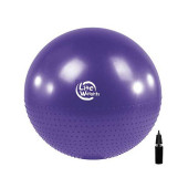 Мяч гимнастический массажный BB010-30 (75см, с насосом)
