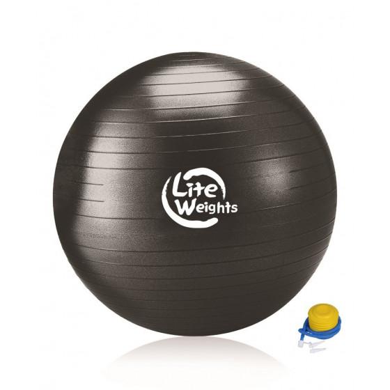 Мяч гимнастический 1869LW (100см, антивзрыв, c насосом)