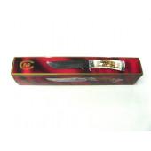 Нож Ворсма туристический Лорд, дамасская сталь, черное дерево (кузница Семина)