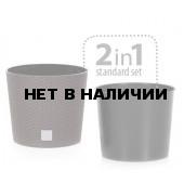 Кашпо для цветов Rato Round DRTUS400L-440U (35/37,65 л) 2 предмета