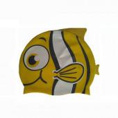 Шапочка для плавания детская Dobest Рыбка YS30