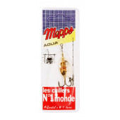 Блесна Mepps Aglia PTS Noirs Ag №2 4,5г (CPAN20021)
