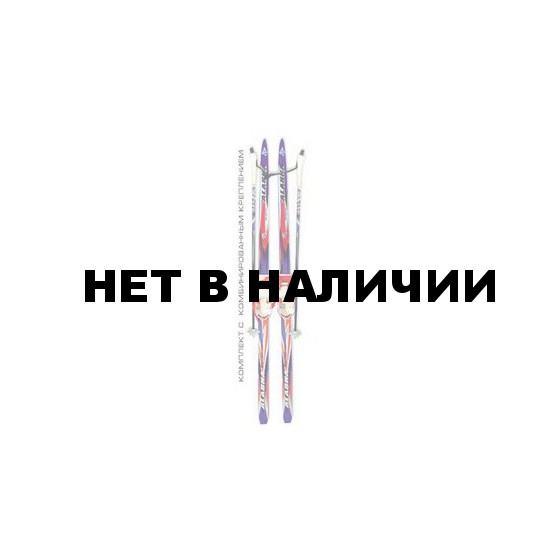 Беговые лыжи STC детские (лыжи, крепления комбинированные, палки) 120 см