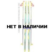 Беговые лыжи STC (лыжи, крепления 75мм, палки) 170 см