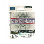 Леска Balsax Nano Fishing Green Box 100м 0,12 (2,5кг)