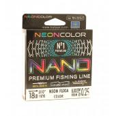 Леска Balsax Nano Neon Fuxia Box 100м 0,25 (8,0кг)