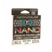 Леска Balsax Nano Neon Fuxia Box 100м 0,45 (22,5кг)