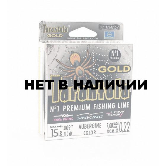 Леска Balsax Tarantula Gold Box 100м 0,22 (7,0кг)