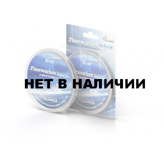 Леска Allvega Fluorocarbon Hybrid 30м 0.09мм (0,98кг)
