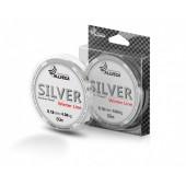 Леска Allvega Silver (50м) 0.18мм (4,04кг) серебристая