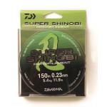 Леска Daiwa Super Shinobi 150м 0,23мм (5,4кг) светло-зеленая