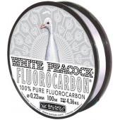 Леска Balsax White Peacock Fluorocarbon Box 100м 0,22 (4,36кг)
