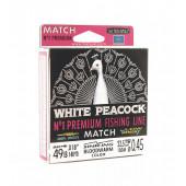 Леска Balsax White Peacock Match Box 130м 0,45 (22,5кг)