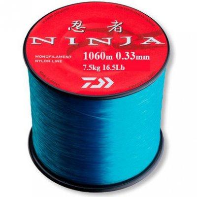 Леска Daiwa Ninja X Line 1060м 0,33мм (7,5кг) светло-голубая