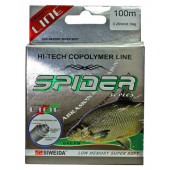 Леска Siweida Spider Bream 100м 0,28 (8,10кг) прозрачная