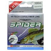 Леска Siweida Spider Pikeperch 100м 0,28 (8,10кг) желтая