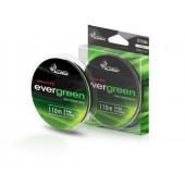 Леска плетеная Allvega Evergreen 110м 0,14мм (8,0кг) темно-зеленая