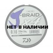 Леска плетеная Daiwa J-Braid X4 135м 0,10мм зеленая