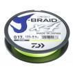 Леска плетеная Daiwa J-Braid X4 270м 0,25мм желтая