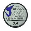 Леска плетеная Daiwa J-Braid X4 270м 0,25мм зеленая