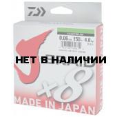 Леска плетеная Daiwa J-Braid X8 150м 0,06мм зеленая