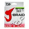 Леска плетеная Daiwa J-Braid X8 300м 0,06мм флуор-желтая