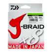 Леска плетеная Daiwa J-Braid X8 150м 0,10мм зеленая