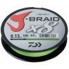 Леска плетеная Daiwa J-Braid X8 150м 0,13мм флуор-желтая