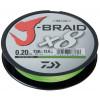 Леска плетеная Daiwa J-Braid X8 150м 0,20мм флуор-желтая