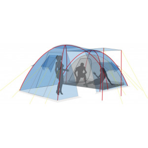 Палатка Canadian Camper Canyon 4 royal