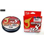 Леска плетеная Daiwa J-Braid Grand X8 150м 0.18мм мультиколор