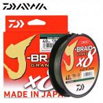 Леска плетеная Daiwa J-Braid Grand X8 150м 0.20мм светло-серый