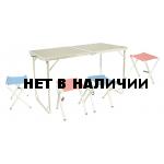 Набор мебели для пикника Tramp TRF-005 (стол + 4 стула)