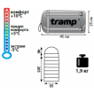 Спальный мешок Tramp Baikal 200 XL