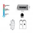 Спальный мешок Tramp Oimyakon V2 (Левый)