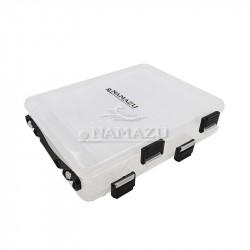 Коробка Namazu для воблеров двухсторонняя 10 отделений 20х17х46 см N-BOX25