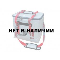 Термосумка Митек ПВХ Бокс 35 л (серый)