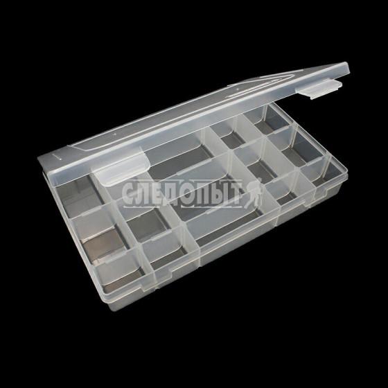 Коробка Следопыт Luno-20 для рыболовных приманок 27,7х18,5х4,25 см PF-FB-20U