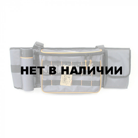 Сумка рыболовная поясная Следопыт Fishing Belt Bag 74х22х10 см PF-FBB-G / PF-BPO-02