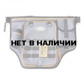 Сумка рыболовная поясная Следопыт Fishing Belt Bag Light 44х35х6 см PF-FBBL-G / PF-BPO-04