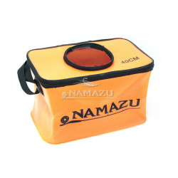 Сумка-кан Namazu складная с окном 40х24х24 см N-BOX23