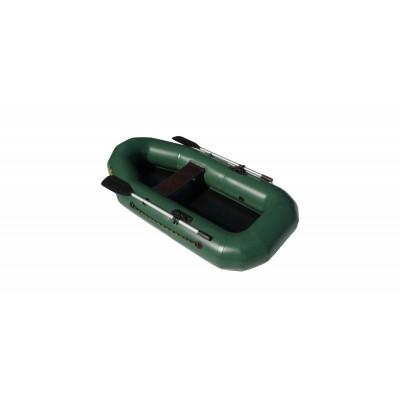 Надувная лодка Лидер Компакт-210 (зеленая)