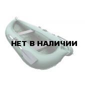 Надувная лодка Лидер Компакт-260 (зеленая)