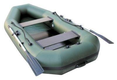 Надувная лодка Лидер Компакт-280 (зеленая)