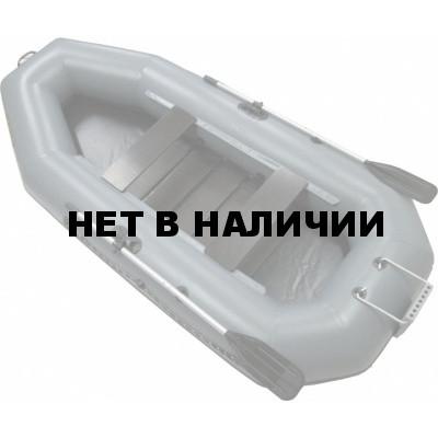Надувная лодка Лидер Компакт-300Р (серая)
